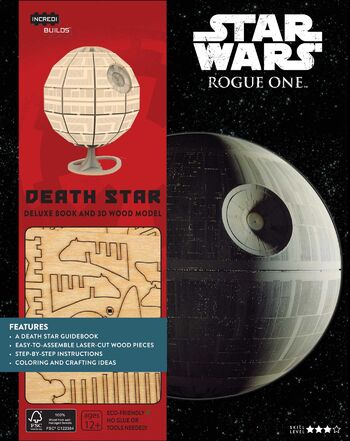Star Wars: Rogue One: Death Star Deluxe Book and 3D Wood Model