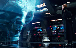 Hologramme de la tête de Snoke