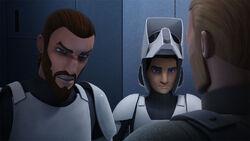 Kanan and Ezra meet Kallus