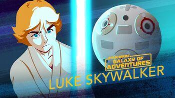 Luke Skywalker, entraînement au sabre laser