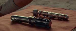 Sabres de Luke et Leia