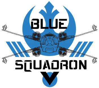 Escadron Blue