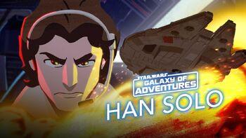 Han Solo prend part au combat pour ses amis