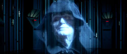 Palpatine hologramme