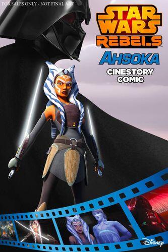 Ahsoka: A Star Wars Rebels Cinestory Comic