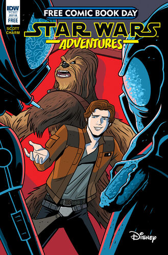 Star Wars Aventures Free Comic Book Day 2018
