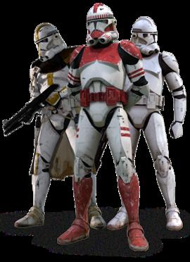 Armure de soldat clone