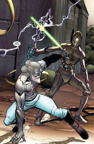 Droïde d'entraînement Jedi