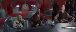 Jedi bureau Palpatine