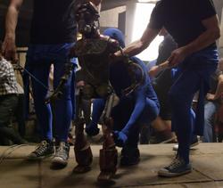 GA-97 tournage SW7 marionnette