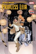 Star Wars Princess Leia Vol 1 2 2nd Printing Variant