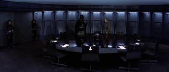 Salle de conférence de l'Étoile de la Mort