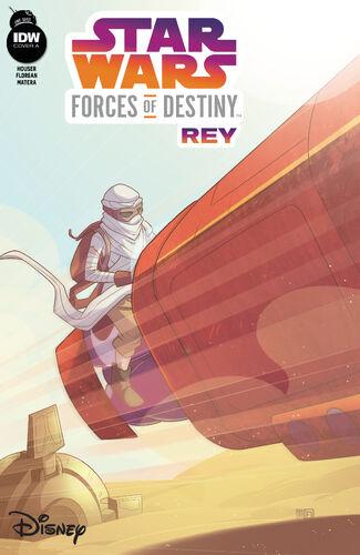Star Wars : Forces du Destin — Rey