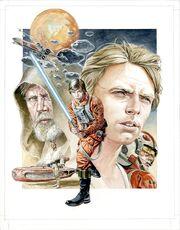 The Legends of Luke Skywalker cover art