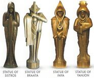 Dwartii Statues Visual Encyclopedia