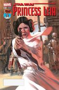 Star Wars Princess Leia Vol 1 4 Mile High Comics Variant