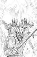 Son of Dathomir 1 Wizard World Sketch Variant-textless