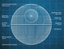 Death star blueprints sw card trader
