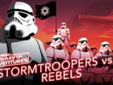 Stormtroopers vs Rebelles, soldats de l'Empire galactique
