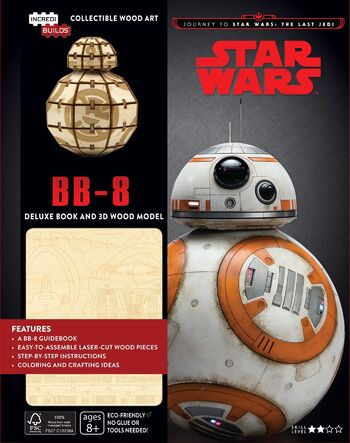 Star Wars: BB-8 Deluxe Book and 3D Wood Model