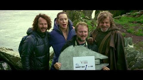 Star Wars Les Derniers Jedi - Reportage Coulisses du tournage