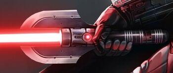 Sabre laser de Dark Malgus