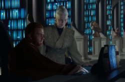 Jocasta Nu aide Obi-Wan Kenobi à chercher Kamino