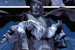 Ben Kenobi saves young Luke