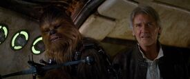 Han Solo Chewbacca épisode VII