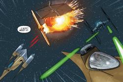 Bataille orbite Naboo