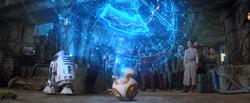 Carte menant à Skywalker