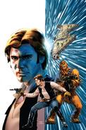 Han Solo 1 Cassaday textless variant