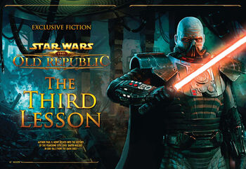 The Old Republic: The Third Lesson