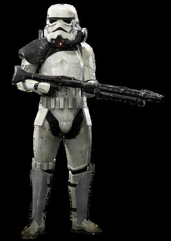 Magma trooper