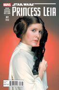 Star Wars Princess Leia Vol 1 1 Movie Variant