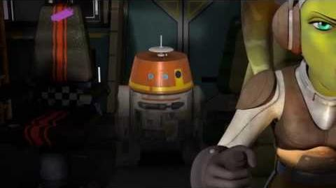 Star Wars Rebels - Court métrage La Machine dans le Ghost