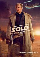 Beckett Solo poster uk