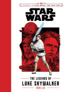 The Legends of Luke Skywalker nouvelle couverture
