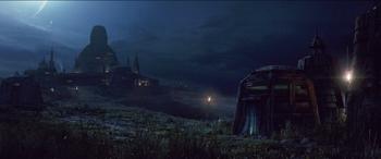 Temple Jedi de Luke Skywalker