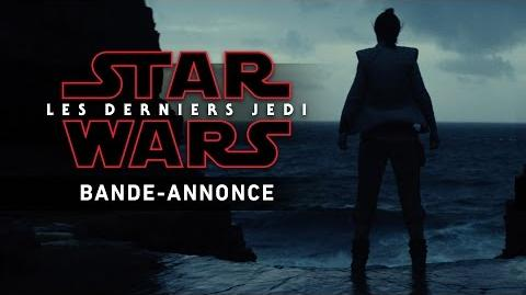 Star Wars Les Derniers Jedi - Bande-annonce teaser (VF)