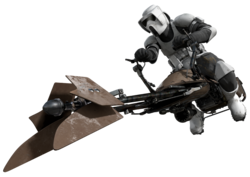 Scout trooper motojet