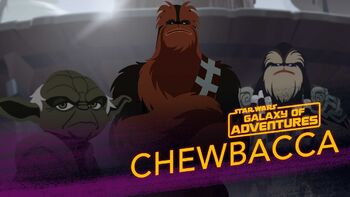 Chewbacca, guerrier Wookiee