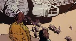 Luke, Han et les nerfs