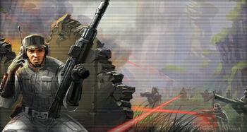L'Assaut de L'Empire Sith