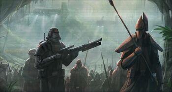 Armée du Second Empire Sith