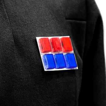 Plaque d'insigne de rang