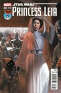 Princess Leia 3 Gabriele DellOtto Mile High Comics Variant