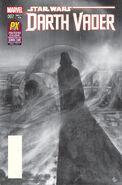 Star Wars Darth Vader Vol 1 7 Black and White Variant