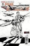 Star Wars Poe Dameron 1 GameStop Sketch