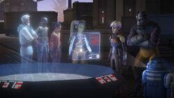 Les Spectres découvrent le Défenseur TIE